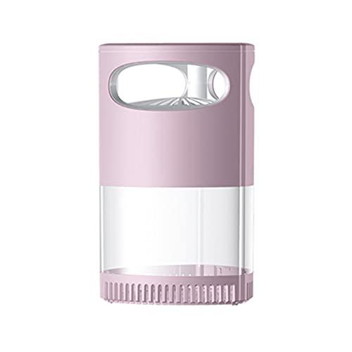 Led Mosquito Killer-lamp - UV-nachtlamp Anti-muggen, stille 360 ° fotokatalytische elektrische mug, campinglantaarn Mosquito Zapper gebruikt in huizen, tuinen voor binnen en buiten,Roze
