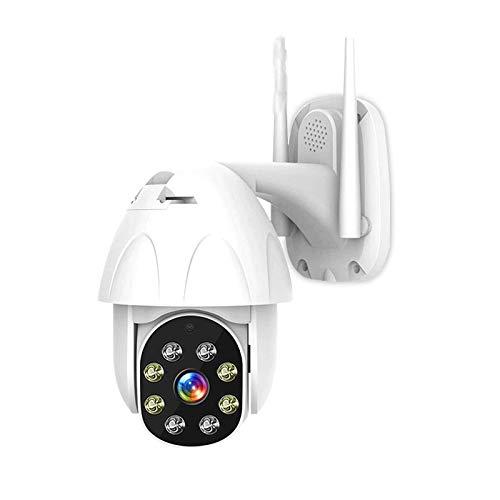 Cámara IP Inalámbrica WiFi CCTV para Exteriores, Cámara De Vigilancia De Seguridad para El Hogar De 3MP HD 1080P, Visión Nocturna, Detección De Movimiento, IP66 A Prueba De Agua