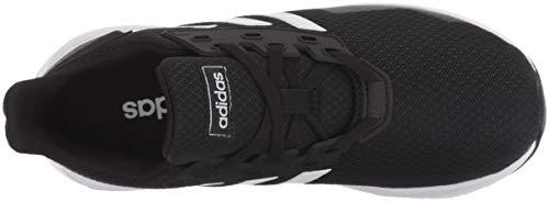 adidas Unisex-Kid's Duramo 9 Running Shoe, Black/White/Black, 5 8