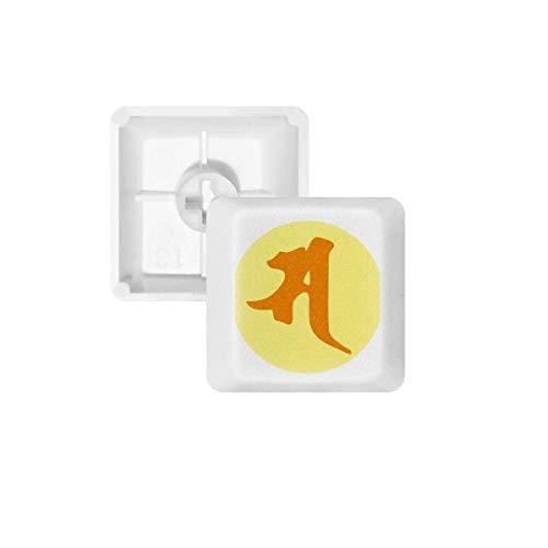Buddhismus Religion Sanskrit SA Muster PBT Tastenkappen für Mechanische Tastatur Weiß OEM-Nr. Markieren Print Mehrfarbig Mehrfarbig R4
