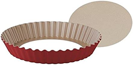 Tramontina Non-stick Tart And Quiche Pan 24cm with Removable bottom
