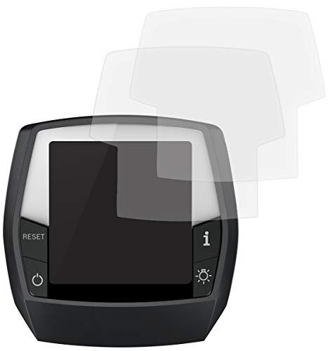 honju Bike Anti-Reflex Displayschutzfolie für Bosch Intuvia eBike Display [2 Stk Made in Germany 100% passgenau, verbesserte Lesbarkeit, hält ohne Kleber, gegen Kratzer & Schmutz]