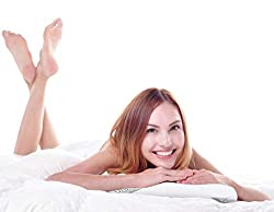 TruContour Thin Memory Foam Pillow for Stomach Sleepers