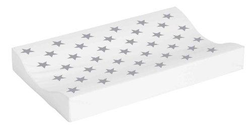 bébé-jou 680037 Wickelauflage 2K Silver Stars