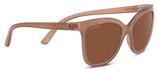 Serengeti Gafas de Sol AGATA Shiny Espresso/Mineral Polarized Drivers 57/20/130 mujer
