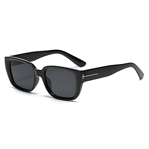 XWKKY Gafas De Sol Cuadradas Clásicas Para Mujer Gafas De Sol Rectangulares Clásicas De Moda Gafas De Sol Para Hombres Y Mujeres