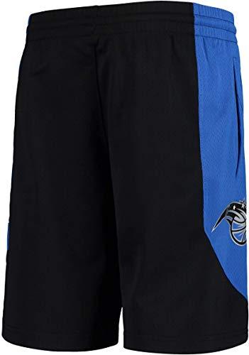 Outerstuff NBA Youth 8-20 Primary Logo Performance Practice Shorts, Jungen, Orlando Magic Schwarz, X-Large