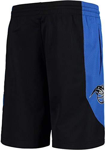 Outerstuff NBA Youth 8-20 Primary Logo Performance Practice Shorts, Jungen, Orlando Magic Schwarz, Small
