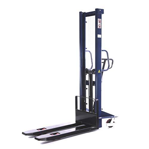 Carretilla elevadora Transpallet Manual Alcance 1,5T/1500kg Elevación de 1,6M/1600mm
