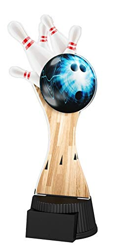 Trophy Monster | Bowling Trophäe | für Kinder, Party, Geburtstag | Produkt OHNE persönliche Beschreibung|