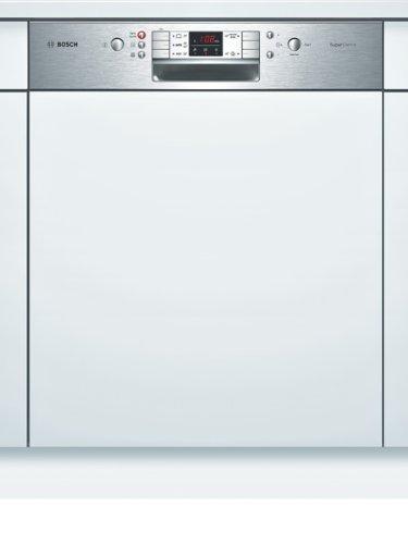 Bosch SMI53M65EU SuperSilence ActiveWater Geschirrspülmaschine / AAA / 10 L / 0.96 kWh / Edelstahl-Blende / Einbaugerät
