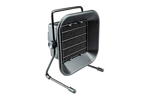 Quick 493 - Extractor de humos de soldadura con filtro grueso y conector para canal de aspiración con posibilidad de montaje flexible, color negro