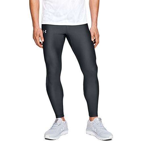 Under Armour Herren Legging Speed Stride, Grau, LG, 1348498-012