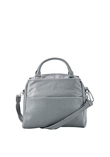 s.Oliver (Bags Damen 39.808.94.3807 Henkeltasche, Grau (Grey), 14x25x27 cm