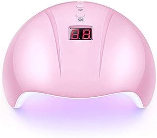 Secadores de uñas Nail Dryer for Nail Led Uv Lámpara lámpara para manicura Lcd Display Drying All Gels Nail Polish Nail Art Tools/pink