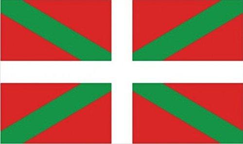 Perfectflags Baskische Flagge 5 Fuß x 3 Fuß große Polyester-Metallösen