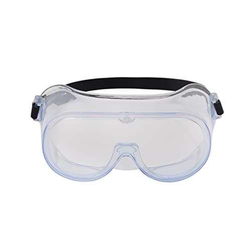 #N/D Seguridad de trabajo Gafas de protección de ojos Gafas de polvo Pintura de viento industrial a prueba de polvo Gafas anti-escupir