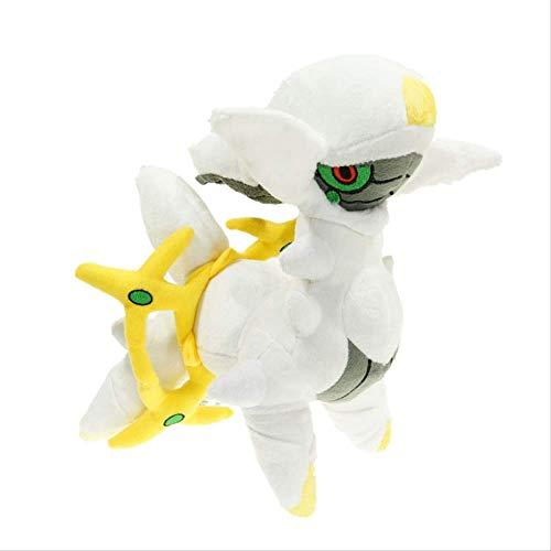 Youhj Juguete de Peluche Relleno Arceus de Dibujos Animados 30 cm, Anime Pokemones Arceus muñecos de Peluche Juguete Regalos Colecciones Juguetes