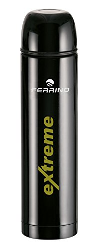 Ferrino Thermos Extreme, Bottiglia Termica Nero, 0.75 Litri