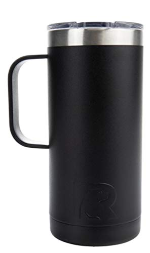 RTIC Travel Coffee Cup (16 oz), Charcoal
