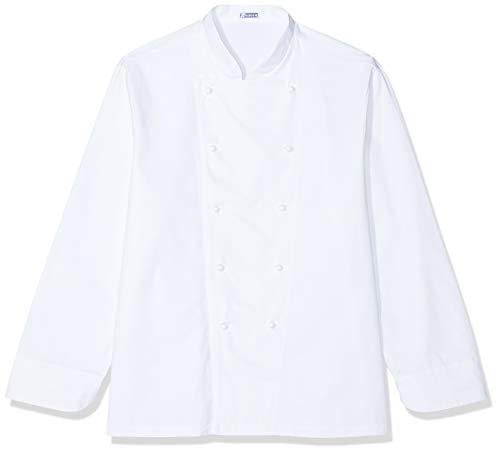Chaqueta de cocinero básica, blanca, de manga larga weiß M