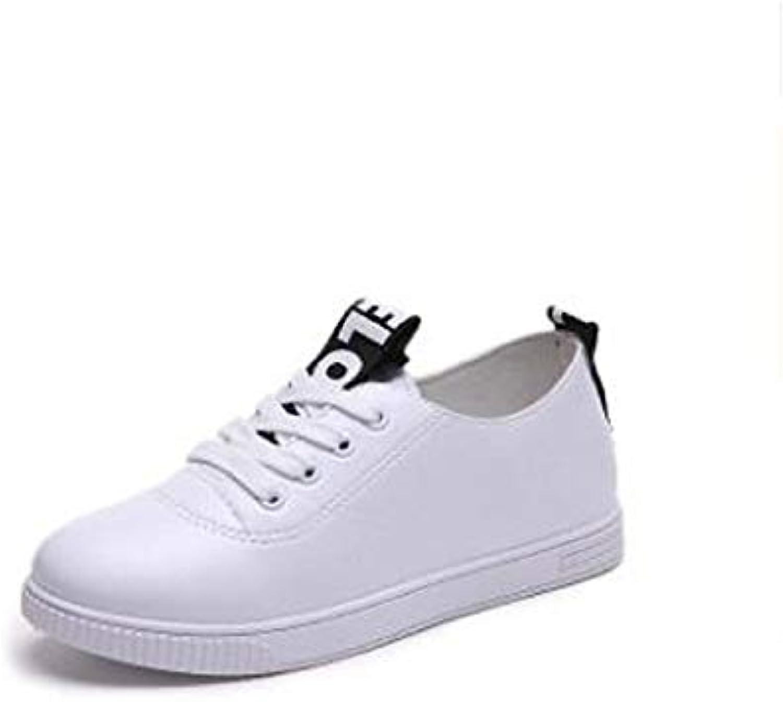Women's shoes PU(Polyurethane) Summer Comfort Sneakers Flat Heel Black Red   Light Green