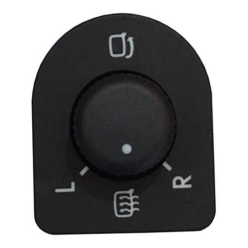 Zhengwang Department Store Interruptor de Espejo de Coche Nuevo Ajuste Knob Side Side Switch Fit para Beetle Jetta Passat B5 Golf 4 1J1959565E (Color : Black)