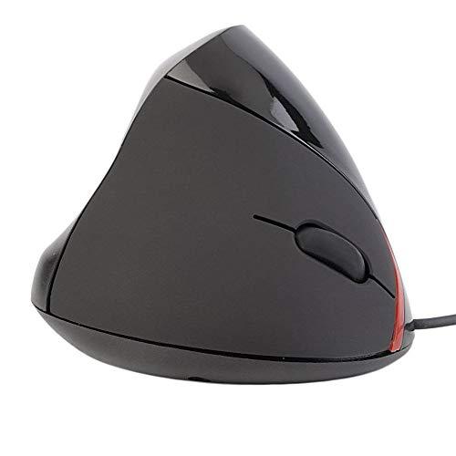 QXKMZ Vertikal Verdrahtetes Mausspiel Optisches Design Ergonomische 3D-Scrollrad, USB-Steckdose Für Zu Hause und Büro-PC-Laptop, Mac Blue