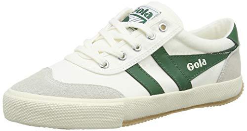 Gola Cla548, Zapatillas para Mujer, Marfil (Off White/Green WN), 37 EU