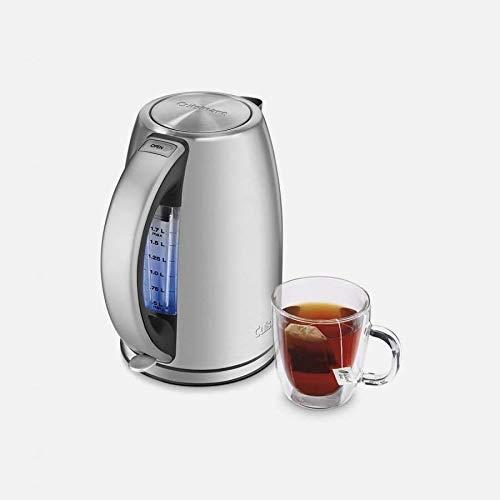 Cuisinart JK-17 Cordless Electric Kettle, 1.7 Liter, Stainless Steel