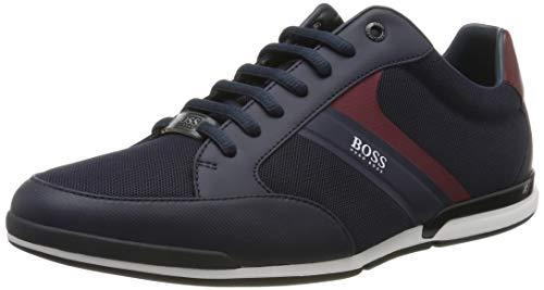 BOSS Herren Saturn_Lowp_Meth Sneaker, Blau (Dark Blue 406), 39 EU