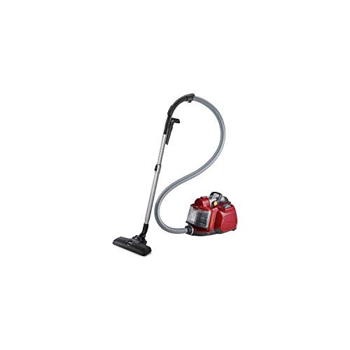 ELECTROLUX ESPC72RR Aspirateur traîneau sans sac Accessoires clipsés sur la poignée Brosse parquet - Rouge framboise