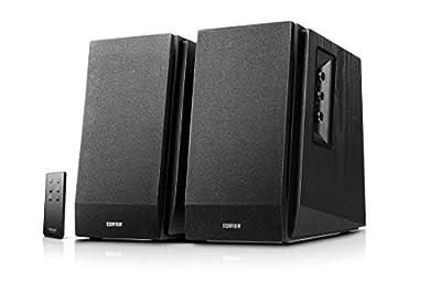 Edifier R1700BT Bluetooth Bookshelf Speakers - Active Near-field Studio Monitors - Powered Speakers 2.0 Setup Enclosure - 66w RMS by Edifier