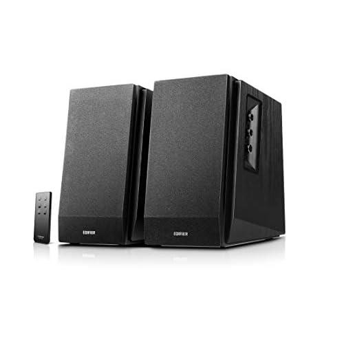 Edifier R1700BT Diffusori da Scaffale Bluetooth - Monitor Studio Nearfield Attivi - Diffusori Alimentati 2.0 Struttura con Cassa 66w RMS-Nero