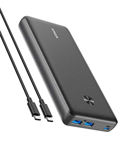 Anker PowerCore III Elite 25600 60W (PD対応 25600mAh 超大容量 モバイルバッテリー)【PowerIQ 3.0 (Gen2) / USB Power Delivery 対応/USB-C入出力ポート/低電流モード搭載/PSE技術基準適合】MacBook Lenovo HP iPad iPhone Android 各種対応