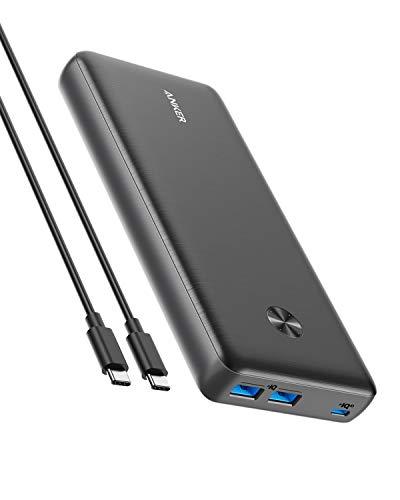 Anker PowerCore III Elite 25600 60W (PD対応 25600mAh 超大容量 モバイルバッテリー)【PowerIQ 3.0 (Gen2) / USB Power Delivery 対応/USB-C入出力ポート/低電流モード搭載/PSE認証済】MacBook Lenovo HP iPad iPhone Android 各種対応