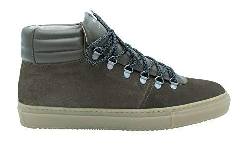 Zespà Herren High-Top Sneaker ZSP2 Oliv Militaire - 46