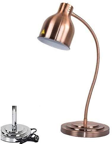 MAMINGBO Calentar la Comida de la lámpara Buffet Fundamentos de visualización Calefacción Preservación Comercial Ligera lámpara de Calor Profesional portátil