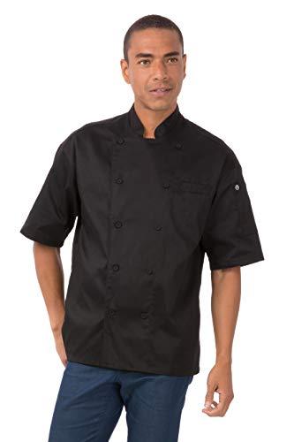 Chef Works Palermo Executive chef Coat, EWCV-BLK-3XL