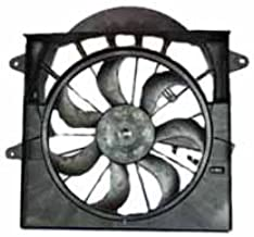 TYC 621220 Jeep Grand Cherokee Replacement Radiator/Condenser Cooling Fan Assembly