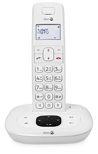 Doro Comfort 1015 - Telefono fisso con filo, colore: bianco