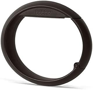 BOBINO(ボビーノ) バッグフック チャコール W10.5×D1.5×H7.5cm テーブル デスク オフィス 椅子 バッグ ずり落ち防止 自転車 ハンドル 盗難防止 シンプル おしゃれ 91559
