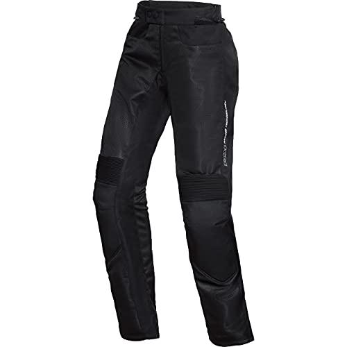 FLM Motorradhose Sports Damen Textil Hose 1.2 schwarz L, Sportler, Ganzjährig, Leder