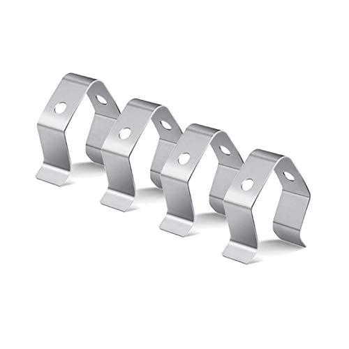 4 Stück Universal Clips Für Grill-Bratenthermometer, Edelstahl Thermometer Clip, Grill Thermometer Halter Zur Befestigung des Temperaturfühlers (4 Stück)