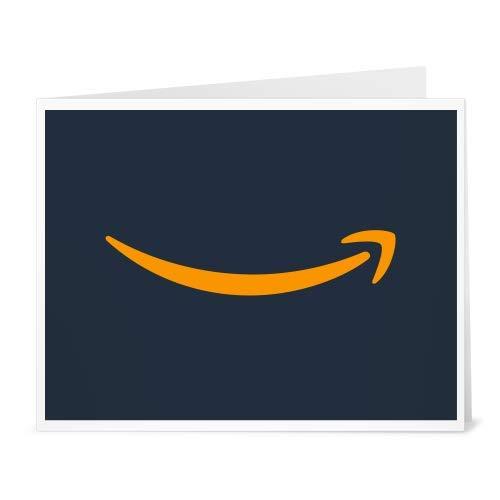 Amazon.de Gutschein zum Drucken (Dunkelblaues Smile Logo)