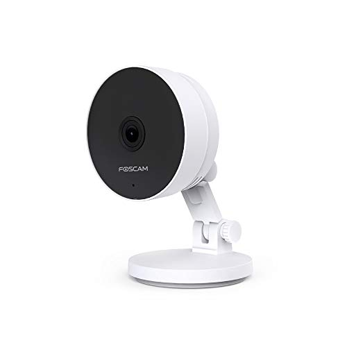 Foscam C2M Wireless Indoor Security Camera - 1080P HD Wide Angle View, Dual Band WiFi, AI Human Detection, Night Vision, 2-Way Audio, Magnetic Bracket - Works with Alexa
