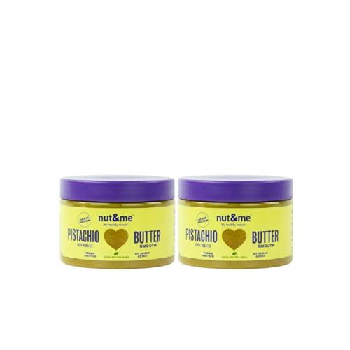 Crema de Pistacho | 100 % Natural | Sin Azúcares añadidos | Sin Aditivos | Vegano | Pack 2 Botes, 250g unidad