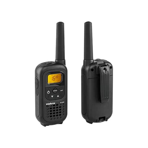 Rádio Comunicador Longo Alcance Intelbras RC 4002 Preto