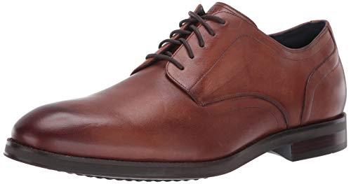 Cole Haan Men's Lewis Grand Plain Toe Oxford, Light Brown, 10.5 W US