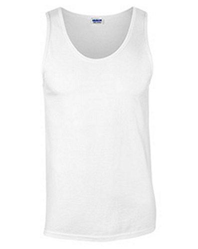 Gildan Men's Ultra Hemmed Satin Label Jersey Knit T-Shirt